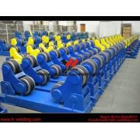 Wind Tower Assembly And Fit Up Welding Turning Rolls / Turning Bed Rotator with PU Roller Manufactures