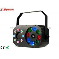8 x 3W Disco Party Lights Gobo Effect With Laser RGBW / Built-in Programmer Manufactures