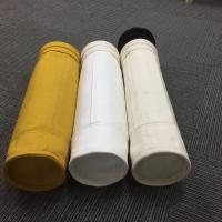 Non woven needle punched PPS dust filter bag used in industrial dust cleaning Manufactures
