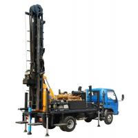 China 200m Hydraulic Water Well Drilling Rig , Truck Mounted Water Well Drilling Machine on sale