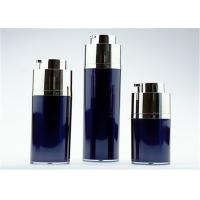30ml Airless Cosmetic Glass Bottles Twist Up Type Hot Stamping And Customized Printing Manufactures