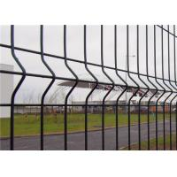 Corrosion Resistance 3d Curved Wire Mesh Fence Metal Frame With Peach - Type Post Manufactures