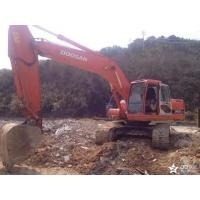 Long Reach Used Doosan Excavator DH220LC - 7 Year 2009 Original Paint Color Manufactures