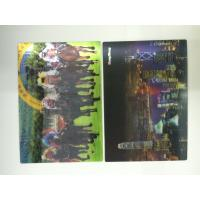 China Full Color Printing 0.6 MM PET 3d Lenticular Card With Pearlised Film on sale