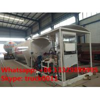 Quality 30m3 15tons skid lpg gas station with lpg gas dispenser for sale, Wholesale bottom price 30,000L skid lpg gas plant for sale