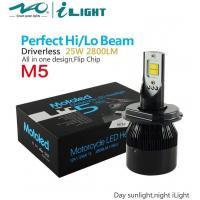 ISO90001 certificate Bright Motorcycle Headlight M5 25W 2800LM Manufactures