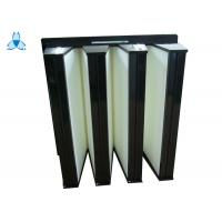 High Performance H13 V Bank Filter , Portable Air Filter For Hospital Operating Room Manufactures