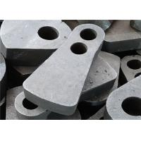 Double Hole Manganese Hammer Crusher Spare Parts By Lost Foam Casting Process Manufactures