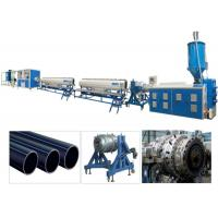 PPR PP HDPE PE Pipe Plastic Extrusion Machine / Production Line Single Screw Manufactures