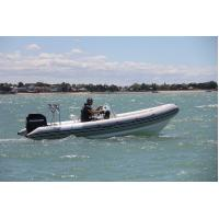 Adult Fiberglass Sport Motor Boat Four seats GPS System for Sea Manufactures