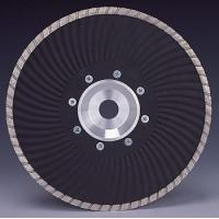 China Marble granite Cutting Turbo Wave Diamond cutting Blades with Flange on sale