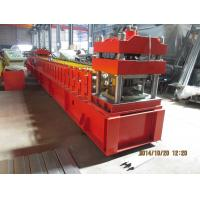 European Metal Door Slot Profile Roll Forming Machine With Automatic Punching 3 - 5 m / min Manufactures