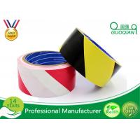 Underground Cable Electrical Warning Tape Red And White Striped , Safety Detectable Manufactures