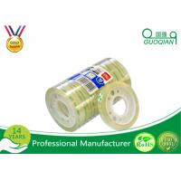 Clear Bopp Stationery Tape For Office Paper Sealing 5-100m Length Manufactures