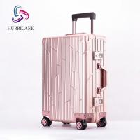 2020 fashion luggage good quality ABS PC aluminum travel luggage Manufactures