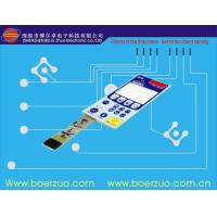 Quality Anti-scratch Tactile Membrane Switch For House Cooker With 8 Pins for sale