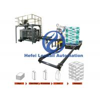Animal Feed Automatic Palletizer Machine , Automatic Palletizing System Manufactures