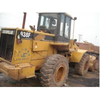 ROPS Second Hand Wheel Loaders CATERPILLAR 938F , Front End Loader For Tractor Manufactures