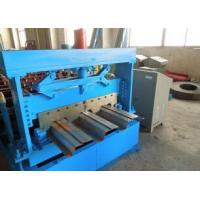 1219 mm Width Metal Floor Deck Roll Forming Machine with Automatic Hydraulic Cutter Manufactures