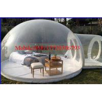 outdoor camping inflatable clear air dome tent camping inflatable clear tent Manufactures