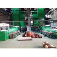 Vertical Super Enamel Coating Machine For Copper Wire Stripping 24 Lines 0.80-2.5mm Manufactures