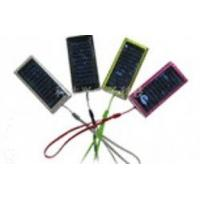 China High Capacity Lithium Battery Portable Mobile Phone Solar Charger With Solar Panels on sale