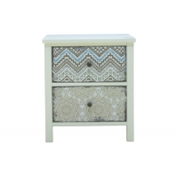 Beige 40cm High MDF Side Tables With 30KG Capacity Manufactures
