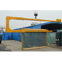 Safety Loading & Unloading U Shaped Glass Crane 3660mm Max Seaming Size Manufactures