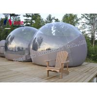 Semi - Transparent PVC Inflatable Event Tent Outdoor Bubble Tent Customized Manufactures