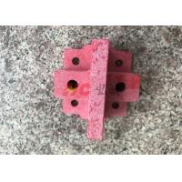 Red GPO3 Fiberglass Sheet machined parts have UL certification high flexture strength Manufactures