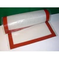 Buy cheap Thin fiberglass mat silicone baking mat popular in US,France etc from wholesalers