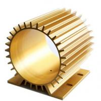 Oxidation Aluminum Heatsink Extrusion Profiles With CNC Machining Manufactures