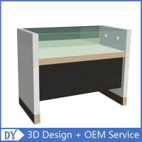 Quality Simple Wooden Timber Glass Display Counters With Factory Competitive Price for sale