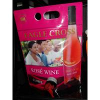 Reusable Laminated Stand Up Pouch With Spout For Red Wine , Grape Wine Manufactures