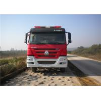 Max Power 309KW Fire Rescue Vehicles , Approach Angle 16° Industrial Fire Truck Manufactures
