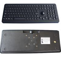 Silicone Industrial Washable Computer Keyboard With Trackball PS2 / USB Manufactures