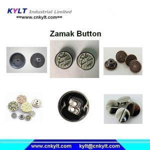 PLC full automatic Zamak 5 zinc alloy die casting metal button die casting machine Manufactures