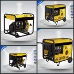 Open Type Gasoline Generator Set  0.65 KVA - 13.8KVA Single Phase Electric Starter Manufactures