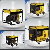 Quality Open Type Gasoline Generator Set  0.65 KVA - 13.8KVA Single Phase Electric Starter for sale