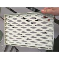 Quality RAL 9016 White Color PVDF Coating Punching Wave Aluminum Panel Tolerance +/- 0 for sale