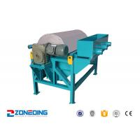 Buy cheap Iron Ore Dressing Equipment / Wet Drum Magnetic Separator For Coal , Cement from wholesalers