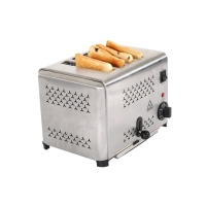 Coffee Shop Reheat 38mm Burger Bun Toaster Machine Manufactures