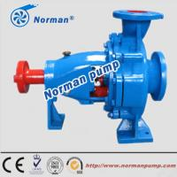 China NIS series single stage single suction centrifugal water pump on sale