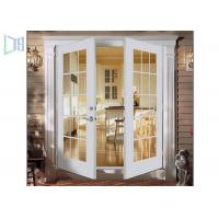Modern Aluminium Swing Door With Slim Profile 2.0 mm Thickness Manufactures