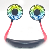 Rechargeable 5200mAh Portable Neck Fan Personal Hands Free 8.5hr Manufactures