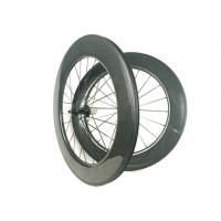 700C 88mm Carbon Wheels , Carbon Disc Road Wheels Hand - Built WIth R13 Hub Manufactures