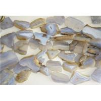 Blue lace agate beads for jewelry Manufactures