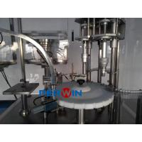 Small Volume Buffer Solution / Cleaning Fluid Filling And Capping Line Manufactures
