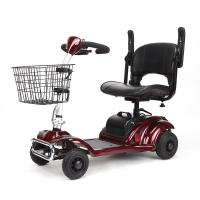 Elders 4 Wheel Electric Scooter / Electric Motorized Wheelchair For Disabled Manufactures