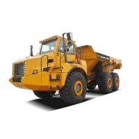 39 ton capacity Articulated Mining Dump Trucks, 6X6 Articulated Hauler for rough terrain Manufactures